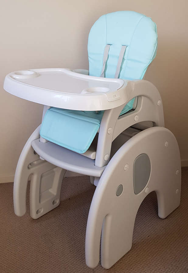 2 in 1 Luxury High Chair+ Kids Table Set